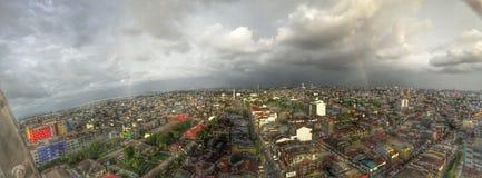 Ville de Makassar Photographie stock