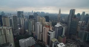 Ville de Makati à Manille, Philippines clips vidéos
