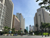 Ville de Makati, Manille Photos stock