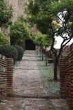 Ville de Malaga Photographie stock libre de droits