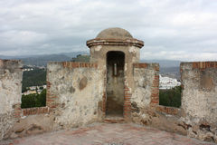 Ville de Malaga Images libres de droits