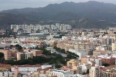 Ville de Malaga Image stock