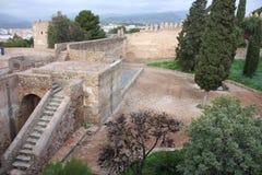 Ville de Malaga Image libre de droits
