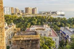 Ville de Malaga, Espagne Photographie stock libre de droits
