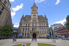 ville de Manchester de hall de l'Angleterre Photo libre de droits