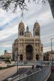 Ville de Marseille, commandant de La de cathédrale, français Photo libre de droits