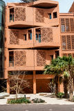 Ville de Masdar - bâtiments Image libre de droits