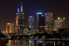 Ville de Melbourne Photographie stock libre de droits