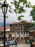 Ville de Metsovo en Grèce Photos libres de droits