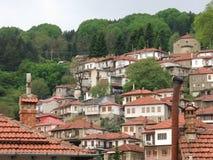 Ville de Metsovo en Grèce Images stock