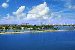 Ville de Miami Images stock