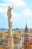 Ville de Milan en Italie photographie stock libre de droits