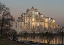 Ville de Minsk Photographie stock