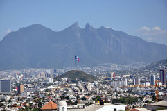 Ville de Monterrey Photos stock