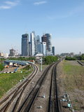 Ville de Moscou Photo stock