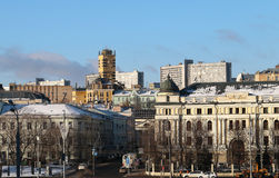 Ville de Moscou Photos stock