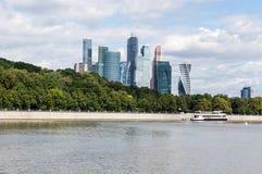 Ville de Moscou (centre international d'affaires de Moscou), Russie image stock