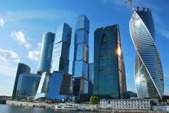 Ville de Moscou de panorama Photographie stock