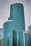 Ville de Moscou Le centre des affaires en Russie Conduction des transactions financières MOSCOU RUSSIE Photo libre de droits