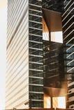 Ville de Moscou de secteur Centre d'affaires Bureaux dans les gratte-ciel photographie stock libre de droits