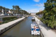 Ville de Narbonne image stock