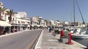 Ville de Naxos banque de vidéos