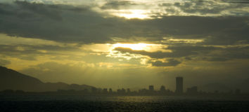 Ville de Nha Trang Photo stock