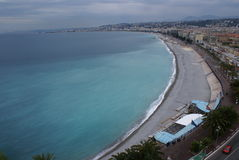 Ville de Nice, France Images libres de droits
