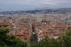 Ville de Nice, France Photographie stock