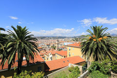Ville de Nice, France Photographie stock libre de droits