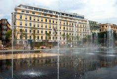 Ville de Nice - hôtel grand Aston Images libres de droits
