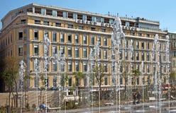 Ville de Nice - hôtel grand Aston Photographie stock