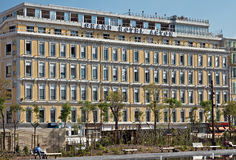 Ville de Nice - hôtel grand Aston Photos stock