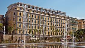 Ville de Nice - hôtel grand Aston Photo libre de droits