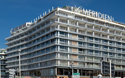 Ville de Nice - Hotel Le Meridien Image stock