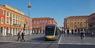 Ville de Nice - placez Massena Image libre de droits