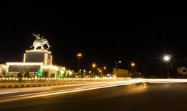 Ville de Nigth Photographie stock libre de droits