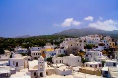 Ville de Nisyros Photographie stock