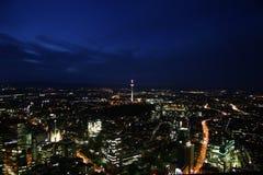 Ville de nuit Photo libre de droits