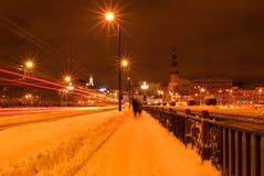 Ville de nuit photos stock