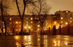 Ville de nuit Photographie stock