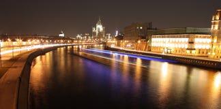 Ville de nuit Photographie stock libre de droits