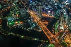 Ville de nuit Photo stock