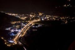 Ville de nuit Images stock
