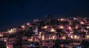 Ville de nuit Images libres de droits