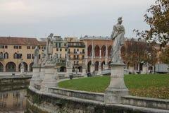 Ville de Padoue en Italie PADOUE Images libres de droits