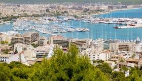 Ville de Palma de Mallorca Île Baléare Photo stock