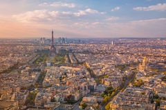 Ville de Paris image stock