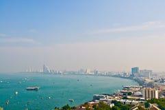 Ville de Pattaya Photos libres de droits