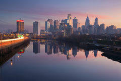 Ville de Philadelphie. Photos stock